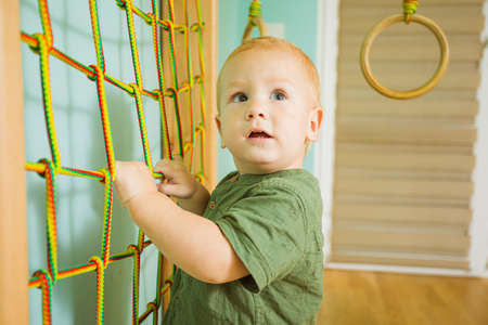 Raising strong and healthy child in constant physical activity