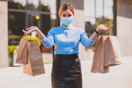 Shopping after long isolation while covid-19 pandemic
