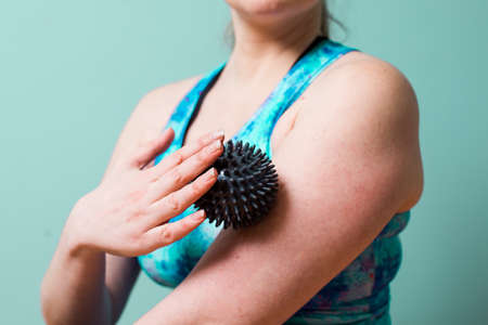 Treatment for hands to relese myofascial constrictions