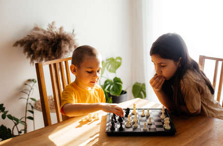 Quiet and calm family games at home
