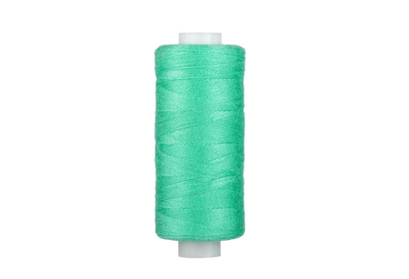 Sewing thread .Close-up for designers.Sewing thread for sewing. Imagens