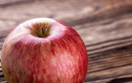 Apple rich in vitamins and iron. Useful  food.environmentally friendly product