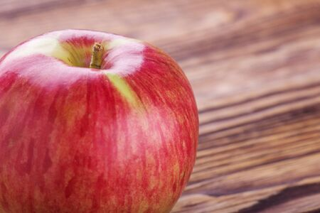 Apple. A fruit rich in vitamins and iron. Useful and healthy food.