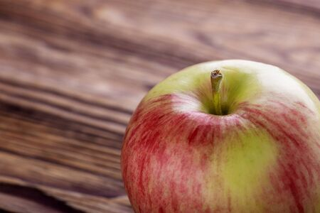 Apple rich in vitamins and iron.