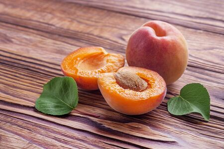 Apricots one of the most healthy fruits, because in their composition are present: beta-carotene, choline, vitamins.