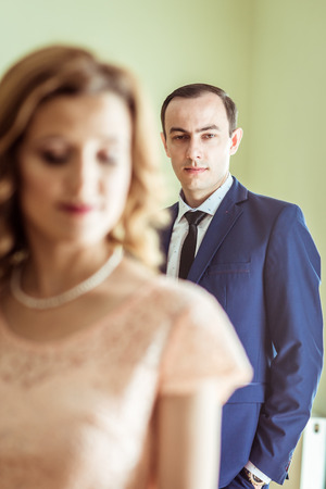registro: A couple in the registry office