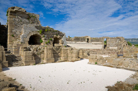 regenerated: Baelo Claudia is the name of an ancient Roman town on the shores of the Straits of Gibraltar
