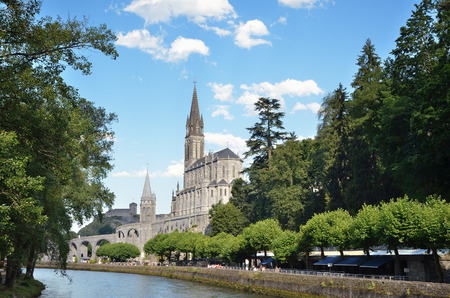 pilgrimage: Lourdes is a major place of Roman Catholic pilgrimage  The Basilica of Our Lady of the Immaculate Conception  Upper