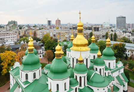 kyiv: Saint Sophia Cathedral in Kiev is an outstanding architectural monument of Kievan Rus