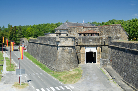 gascony: Bastides are fortified towns built in medieval Languedoc, Gascony and Aquitaine during the thirteenth and fourteenth centuries
