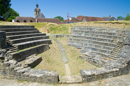 retrieved: The existence of Navarrenx can be traced from the first century of the Christian era  French town has ancient Roman ruins restored partly
