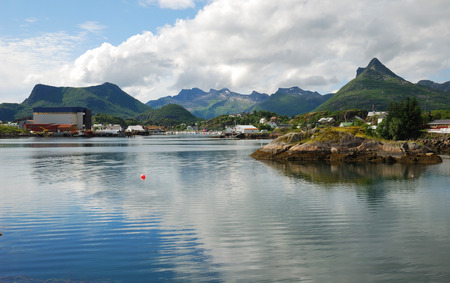 islets: Lofoten is an archipelago  Many large islands and stony islets are scattered in the fjord  Small town is located on these picturesque islands