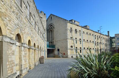 norman castle: Oxford castle is a large Norman medieval castle rebuilt in prison in past. This is the hotel now.