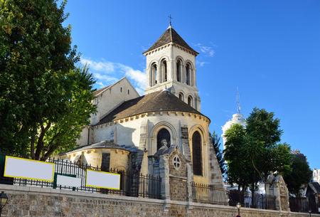 oldest: The Saint-Pierre de Montmartre is the oldest surviving church in Paris.