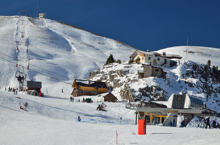 piste: The ski resort Pierre Saint Martin is a perfect place for relax skiing in nature. It is settled on the west of Pyrenees.