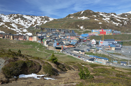 pas: Pas de la Casa is a town lying on the gentle slopes in Andorra. In winter this is a ski resort part of the Grandvalira resort.