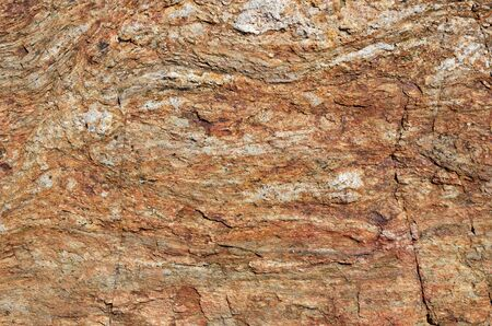 splitting up: Surface of the calcareous rock is photographed closely. Stock Photo