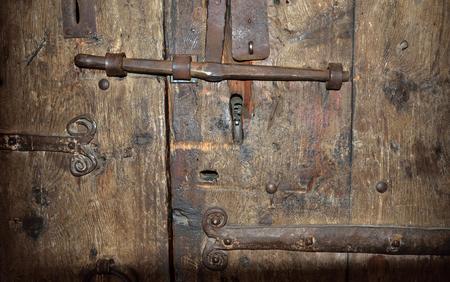 batten doors: The big metal lock with a latch on the wooden surface of the & Batten Doors Stock Photos \u0026 Pictures. Royalty Free Batten Doors ... Pezcame.Com