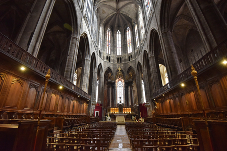 Cathedral of Saints Justus and Pastor is one of the tallest in France. It is a major tourist attraction in Narbonne.
