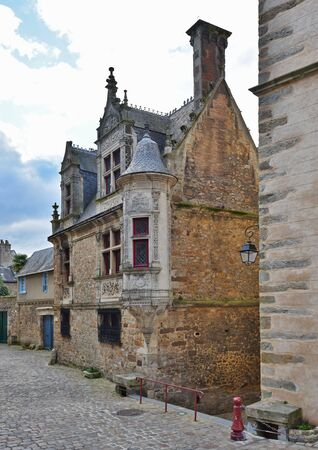 townhouses: Le Mans has a well-preserved old town. It also called Vieux Mans.