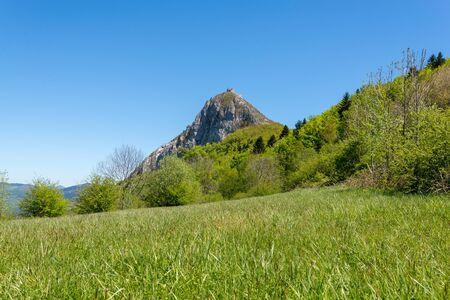 Meadow near Montsegur commune