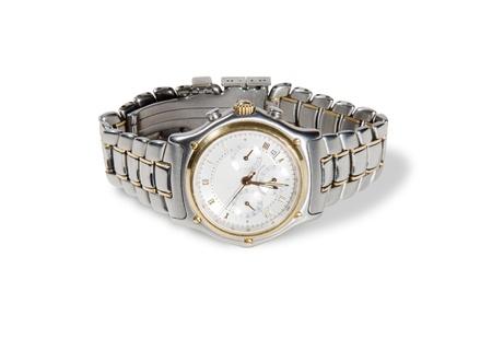 cron�grafo: detallada de la captura de un reloj cron�grafo de mans