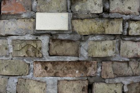 brick wall grunge texture. background