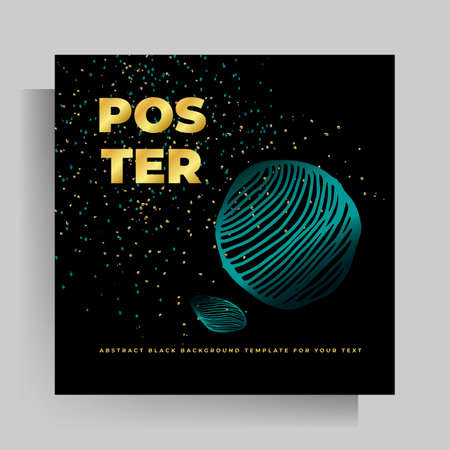 Print cover design template. Vector illustration with hand drawn graphic elements.
