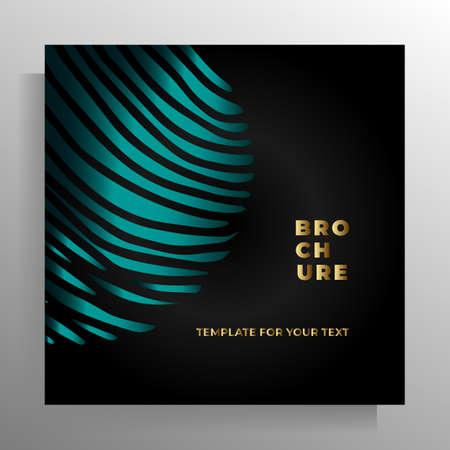 Print cover design template. Vector illustration. Illustration