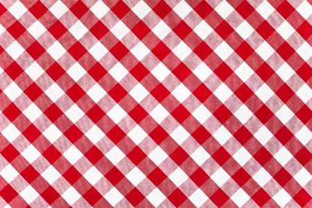 manteles: rojo de tela comprobado mantel