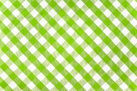 manteles: verde de tela comprobado mantel