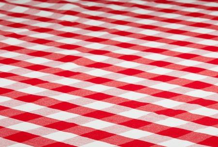 tela algodon: rojo de tela comprobado mantel