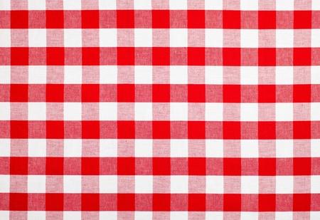 шашка: красная скатерть материал в клетку