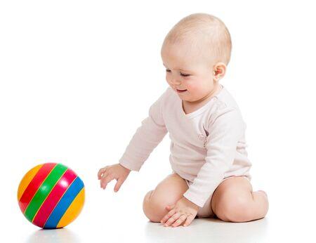 laps:   baby having fun