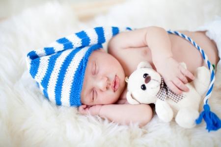 sleeping kid: sleeping baby boy
