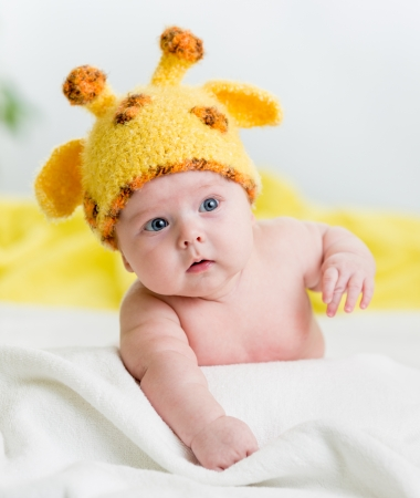 funny infant baby boy Stock Photo - 19337211