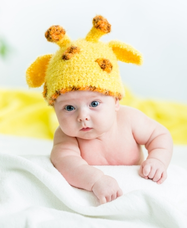 funny infant baby boy photo