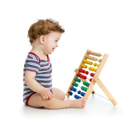 early learning: principios beb� aprendizaje Foto de archivo