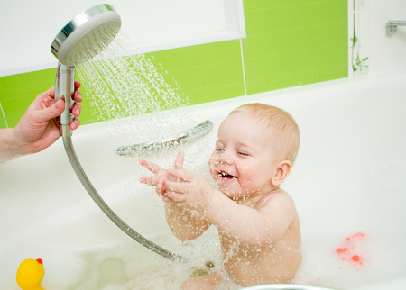 tempering shower for baby photo