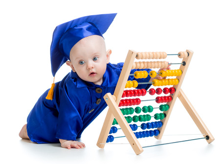 early learning baby photo