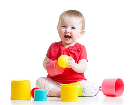 Krapfen Oder Croissant. Kind Spielt Mit Kind Spielzeug Foodlittle ...