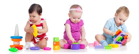 nursery babies with educational toys