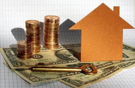 House, key and money