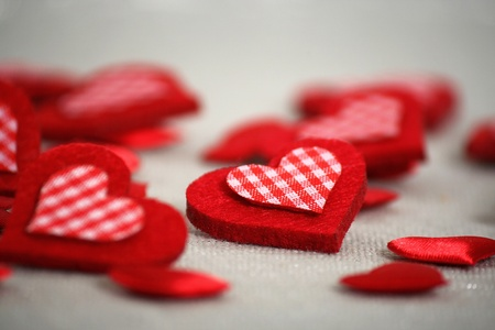 felicitation: Valentine Hearts Heap