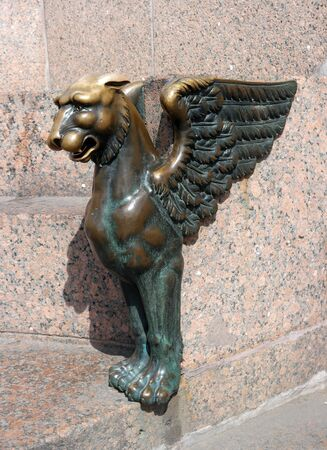 leon con alas: San Petersburgo, Muelle de las Esfinges, león alado