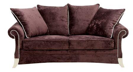 Sofa isolated on white background. Stock Photo