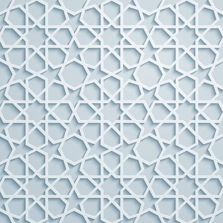 arabic background: Elegant arabic pattern geometric background