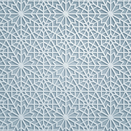 Elegant arabic geometric pattern background