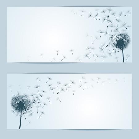 overblown: vector flower background
