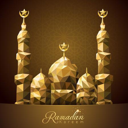 greeting card background: Ramadan Kareem greeting card background